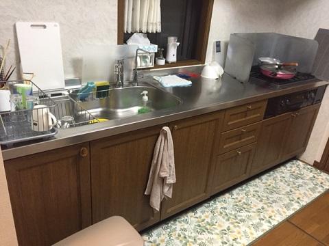 クリナップ キッチン リフォーム④