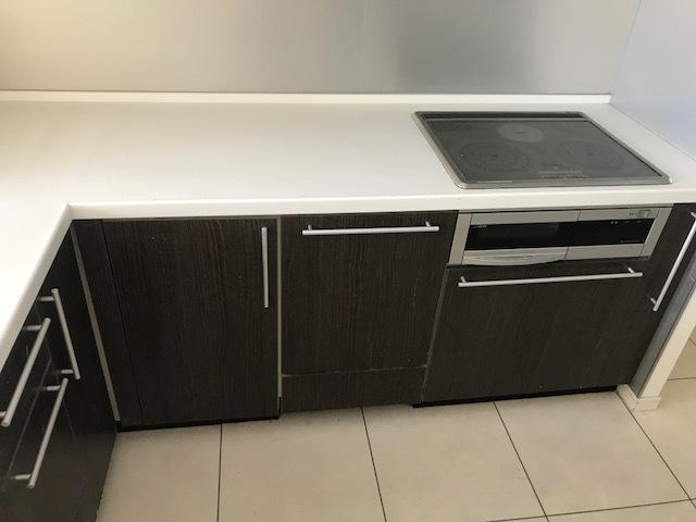 システムキッチン ステンレス キッチン組立施工⑦