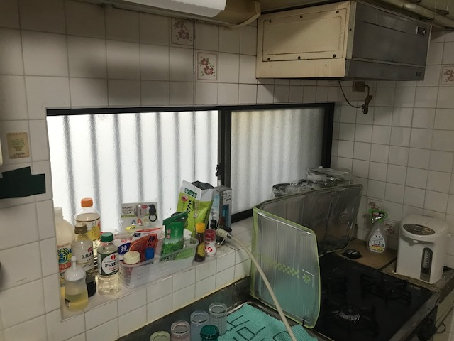 LIXILシステムキッチン シエラ キッチン交換工事③